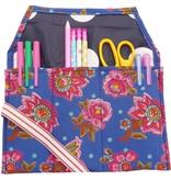 Pencil roll blue
