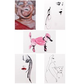 Tessa M. de Graaf Kunst kaartenset