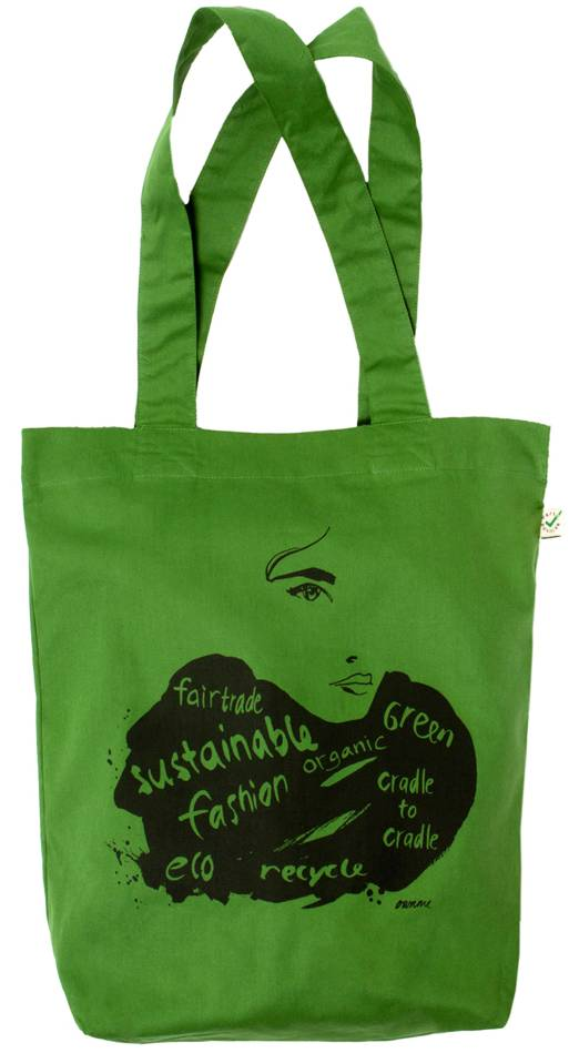 Eco shopper groen