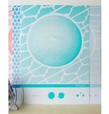 Zeefdruk Neptunus