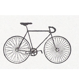 De krantenkapper Stempel fixed bike