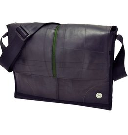 More than hip Laptop eco tas groen