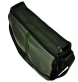 Laptop eco tas groen