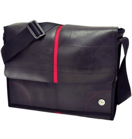 More than hip Laptop eco tas rood