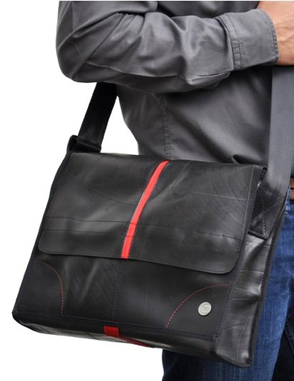 Laptop eco tas rood