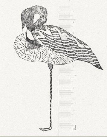 Stempel Flamingo
