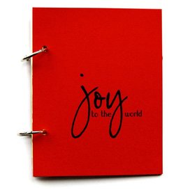 Gadanke {Joy} christmas journal berry red