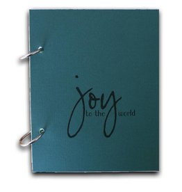 Gadanke {Joy} christmas journal classic green
