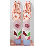 Rabbit flower pale pink