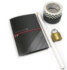 Bl-ij Little black book & witte gelpen