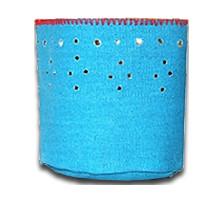 Kaarshouder canvas blauw