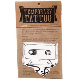 De krantenkapper Tattoo cassettebandje
