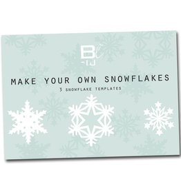 Bl-ij Make your own snowflakes