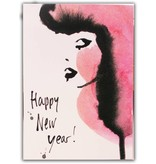 Happy new year kaart