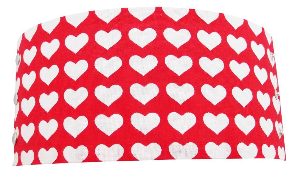 Tafel kaarshouder harten