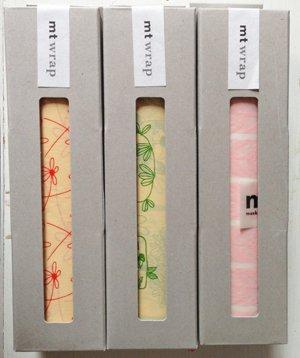 MT washi wrap Flower 230 mm