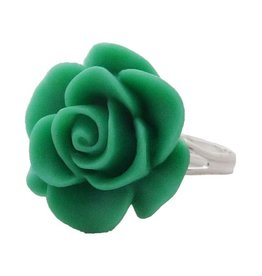 Zilte atelier Ring light green rose