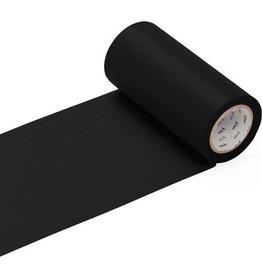 MT  MT casa  washi tape  mat zwart 100 mm