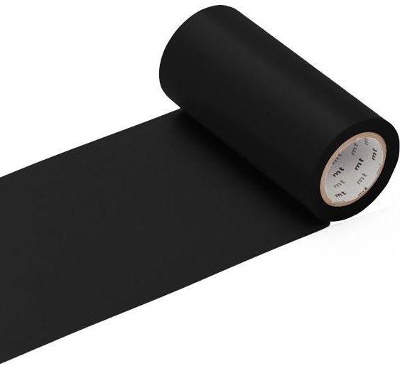 MT casa  washi tape mat zwart 100 mm