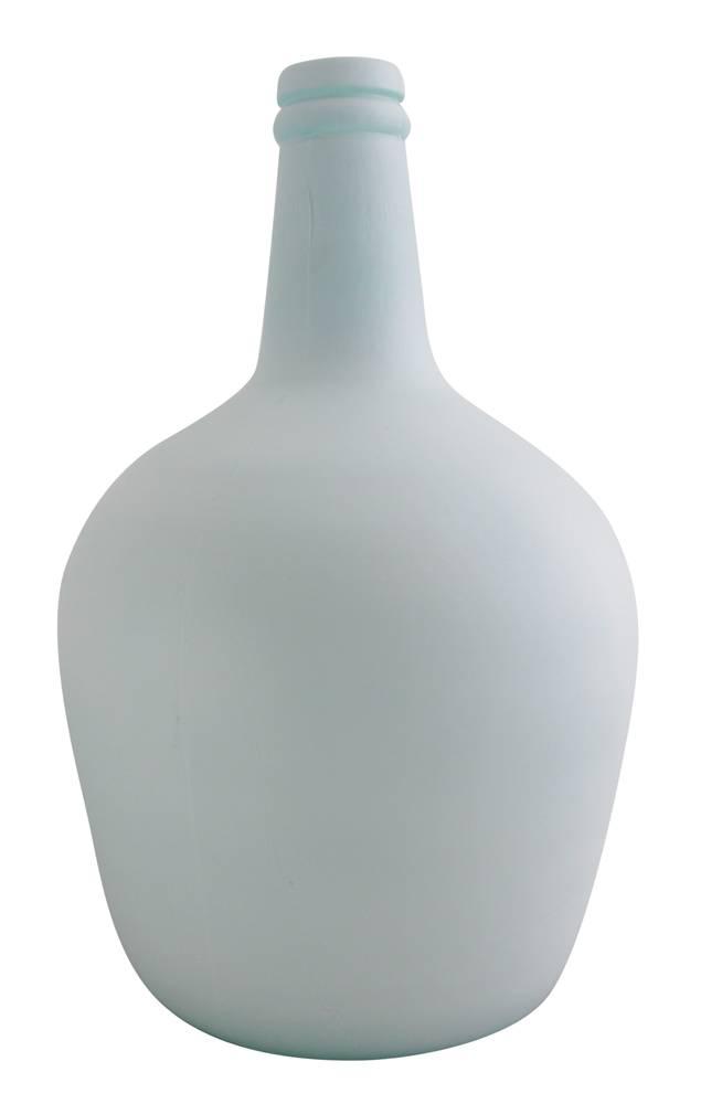 Flesvaas pastelblauw