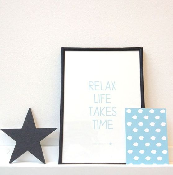 Poster A4 Relax