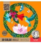 3D kleurplaat Le Colibri