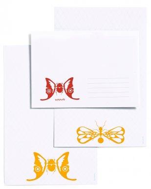 Briefpapier set sweet bugs