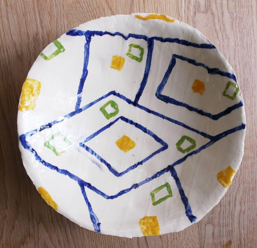 Designer schaal Judith Janssen Geometric