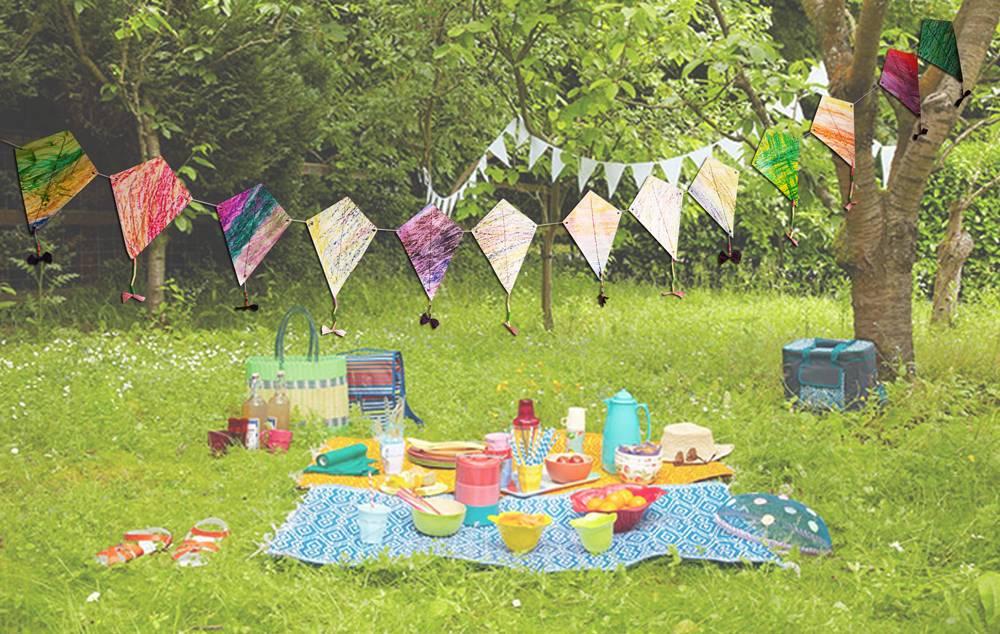 Rijg je eigen feest vliegerslinger