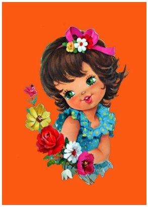 Meisje mini poster