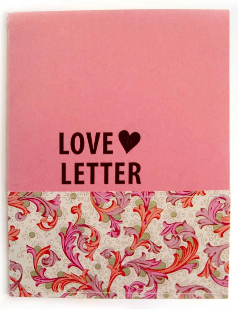 {Love letter} pink valentine