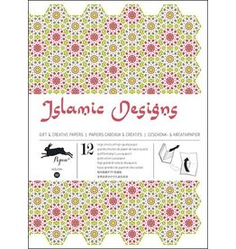 Pepin Press Cadeau & creatief papierboek Islamic designs