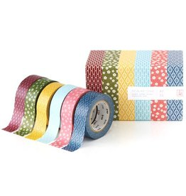 MT  MT washi tape set Wamon 3