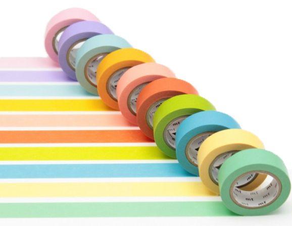 MT masking tape pack light