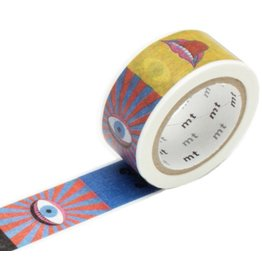 MT  MT masking tape ex Tadanori Yokoo eye and mouth
