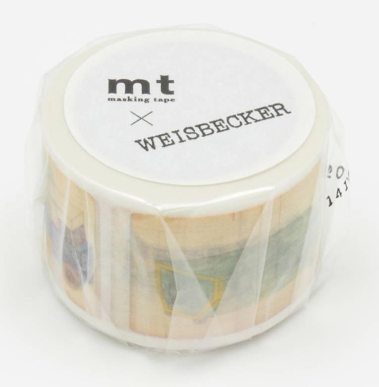 MT washi tape ex Philippe Weisbecker car