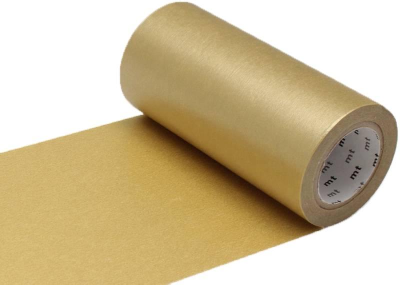 MT casa washi tape  goud 100 mm