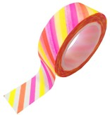 Masking tape shocking stripe