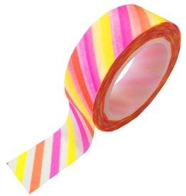 Studio Stationery Masking tape shocking stripe