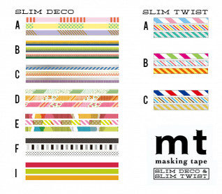 MT masking tape slim deco D