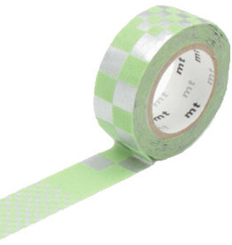 MT  MT washi tape fab flocky square