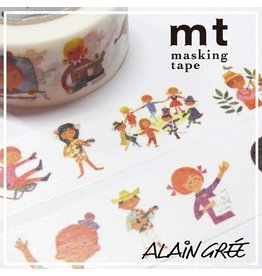 MT  MT masking tape ex Alain Grée human