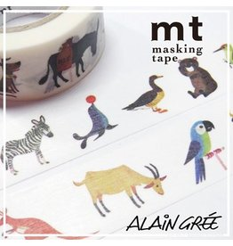 MT  MT washi tape ex Alain Grée animal