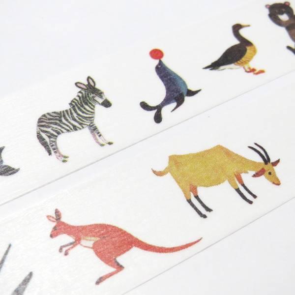 MT washi tape ex Alain Grée animal