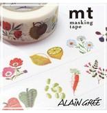 MT washi tape ex Alain Grée plant