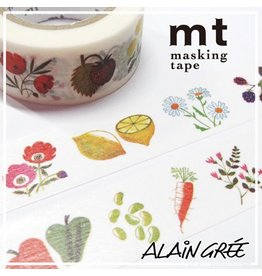 MT  MT washi tape ex Alain Grée plant