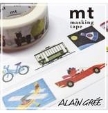 MT masking tape ex Alain Grée vehicle