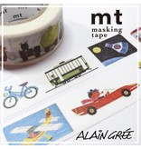 MT washi tape ex Alain Grée vehicle
