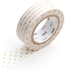 MT  MT washi tape dot small gold