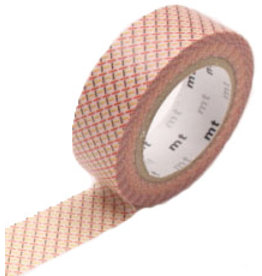 MT  MT masking tape hasen red